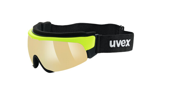 UVEX Cross Shield II Pro S yellow/mirror yellow
